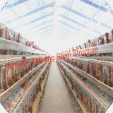 Camera prefabbricata della gabbia di pollo della struttura del blocco per grafici d'acciaio di basso costo nelle aziende avicole