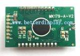 Характер УДАРА 16X2 Stn Transflective индикации LCD Monochrome