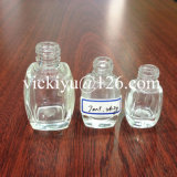 piccola bottiglia quadrata di vetro 4ml per il polacco di chiodo