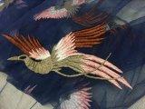 Nueva tela del bordado del pájaro del diseño para la alineada de las mujeres de la alta calidad