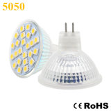 5050 proyector de 2W 24PCS MR16 AC85-265V/12V LED