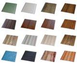 Panneaux de plastique de panneau de mur de PVC de laminage de largeur de la bonne qualité 25cm