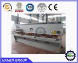 Máquina de corte QC12Y-4X4000 do feixe hidráulico do balanço