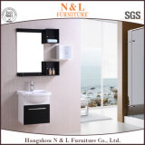 Gabinete de banheiro fixado na parede moderno do PVC com gabinete do espelho