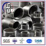 高品質の鋳造の管付属品販売の90度のステンレス鋼の通りの肘ANSI B 16.3