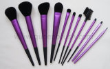 Schönheit Equipments 11PCS Purple Cosmetic Brush Set