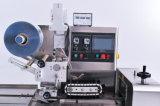 Barra de doces Sami-Automática do descanso do fluxo que envolve e fábrica de máquina do empacotamento