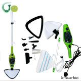 Handle Steam Mop Floor Aspiradora com Portable Mini Stick Steam Cleaner com Big Water Tank 1300W Power Water Steam Cleaner