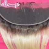Diritto frontale del merletto dei capelli 13X4 1b/613# Blone del Virgin