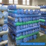Tarps tissé par HDPE imperméable à l'eau dans la taille et la couleur différentes