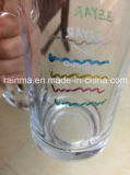 Pintura de la etiqueta de plástico del color sobre el vidrio y la cerámica 2