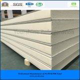 ISO, SGS одобрил 75mm выбитую алюминиевую панель сандвича PIR (Быстр-Приспособьте) для замораживателя холодной комнаты холодной комнаты