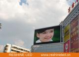Pared video fija al aire libre a todo color de Reshine P6 LED, visualización de LED para hacer publicidad