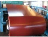Зеленый цвет/Mint холоднопрокатная катушка PPGL стальная