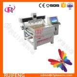 Maquinaria de vidro automática de trabalho pequena da estaca do CNC do tamanho com multi cabeças RF800m