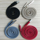 Cavo Braided di nylon del USB per il iPhone & il telefono astuto Android