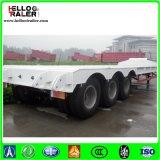 거위 목 모양의 관 굴착기를 위한 트레일러 확장 가능한 80 톤 Lowboy