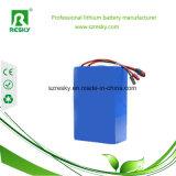 paquete para Ebike, vespa eléctrica de la batería del Li-ion de 36V 14ah