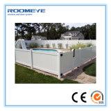 Le PVC de Roomeye clôturant la frontière de sécurité de PVC lambrisse la frontière de sécurité d'intimité