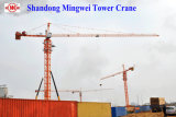 Кран башни для конструкции Qtz80 (TC5513) - Макс. Нагрузка: нагрузка 8t/Tip: заграждение 1.3t/: 55m
