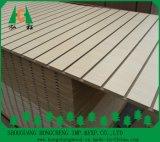 Slot / Plain / PVC / HPL / UV / Melamina MDF laminado