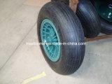 400-8 Maxtop 압축 공기를 넣은 외바퀴 손수레 고무 바퀴