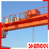 두 배 (세륨을%s 가진 Single) Girder Gantry Crane