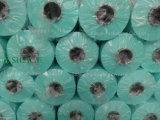 Película Width250mm/500mm/750mm preta/verde/a branca da ensilagem do envoltório, Length1500mm/1800mm, espessura 25um