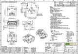 USB3.0 Af Conector para adaptador / banco de la energía, Corriente nominal: 5 A a 250 VCA