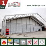 屋外のイベントの中心のための堅い壁が付いている大きい40mのゆとりのスパンのテント
