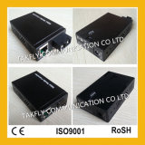 Mini Type 10/100/1000base-Tx a 1000base-Fx Fiber Optic Media Converter