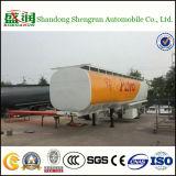 Petroleiro de petróleo do tanque de petróleo Diesel do combustível do Tri-Eixo 30-60cbm a África