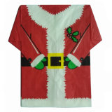 I tovaglioli di carta della maglietta di natale dei tovaglioli del Babbo Natale Pre-Hanno piegato il tovagliolo