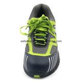 Cuero de moda de goma botas de seguridad