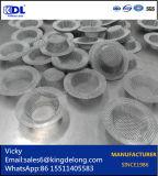 Edelstahl-Metalldraht-Ineinander greifen-Filter-Blätter