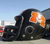 膨脹可能なトンネルのテントのヘルメットのフットボールのための膨脹可能なマスコットのトンネル