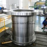 A grande grua da mina forjou o eixo certificado por ISO9001: 2008