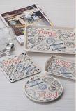 "Dinnerware- ""Frankrijk van de Melamine van 100% draagt "" Reeks Tray/100%Melamine (FB9010)"