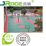 Synthetische Basketballplatz-Sport-Gleitschutzoberfläche