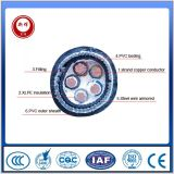 câble d'alimentation de 0.6/1kv Cu/XLPE/Swa/PVC