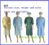 공급자 Kxt-Sg29를 옷을 입히는 처분할 수 있는 비 길쌈된 외과의사 격리 의학 가운