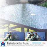 表または窓ガラスのための緩和されたまたは浮遊物のパタングラス