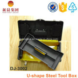 U-Form-schwarzer u. gelber Farben-Stahl-Werkzeugkasten