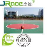 PlastikBasketballplatz-Bodenbelag für Innensport-Oberfläche