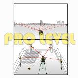 Hohe Präzisions-automatisches Nivellierendoppelgrad-Drehlaser-Stufe (SRE-207)