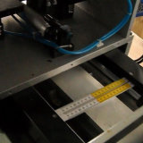 Máquina de impressão de madeira da almofada da régua de Foding para a venda