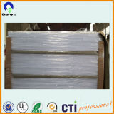 PVC de color blanco brillante de 0,4 mm Hoja brillante para offset