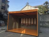 Caminhada em cabines industriais da pintura da fabricação