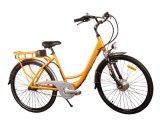 Grünes elektrisches Stadt-Fahrrad (HQLCYCLE1001)