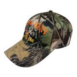 Gorra de béisbol caliente de Camo de la venta con la insignia Bbnw30